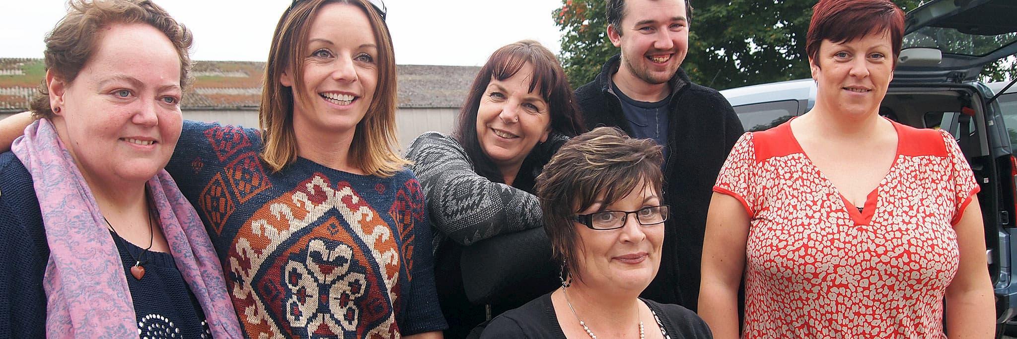 Moray team group portrait
