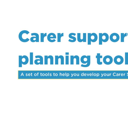 Carer Support Planning Toolkit